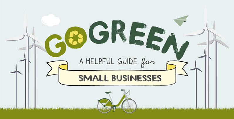 How To Create An Eco Friendly Business Infographic