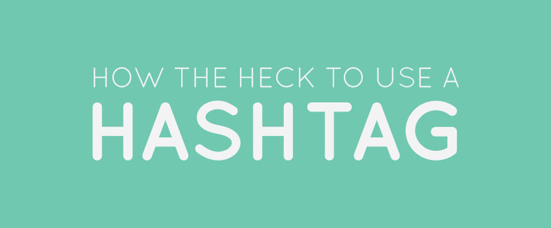 How to use a hashtag intro